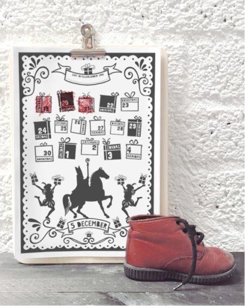 Gratis Printable Welkom Sint Poster