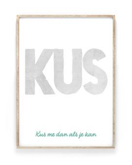 Citaat Poster met eigen tekst | Printcandy