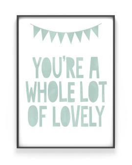 Poster met eigen tekst maken | Liefde | Printcandy