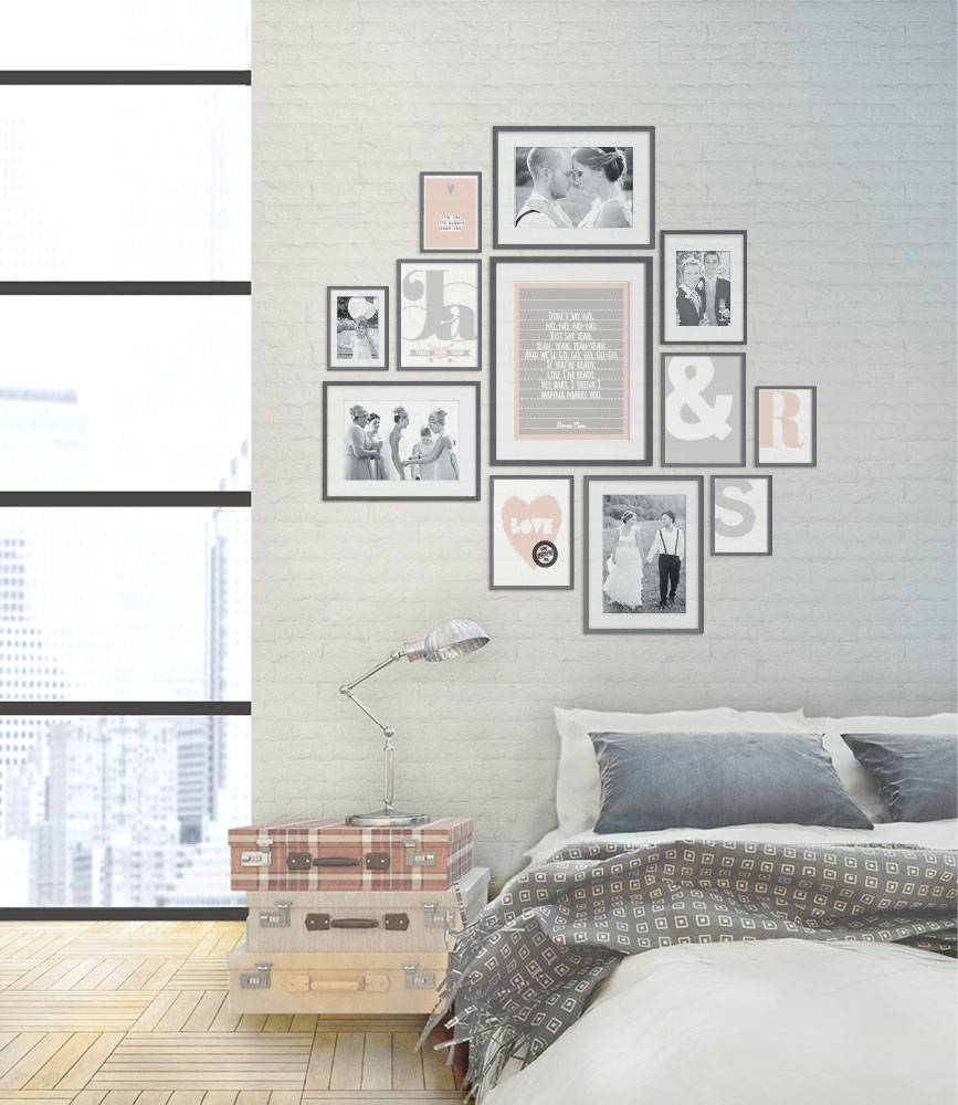 collage met trouwfoto 39 s printcandy. Black Bedroom Furniture Sets. Home Design Ideas