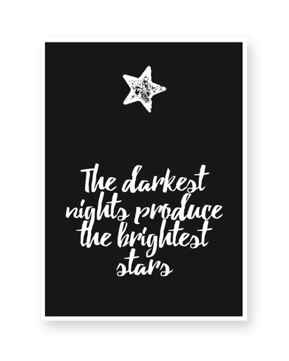 Schrijf je eigen Citaat - Online zelf tekstposter maken in zwart-wit of met kleur accent - Printcandy