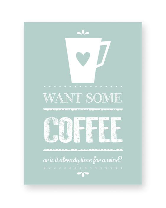 Koffie Print - Coffee Poster - Keuken Posters zelf maken bij Printcandy
