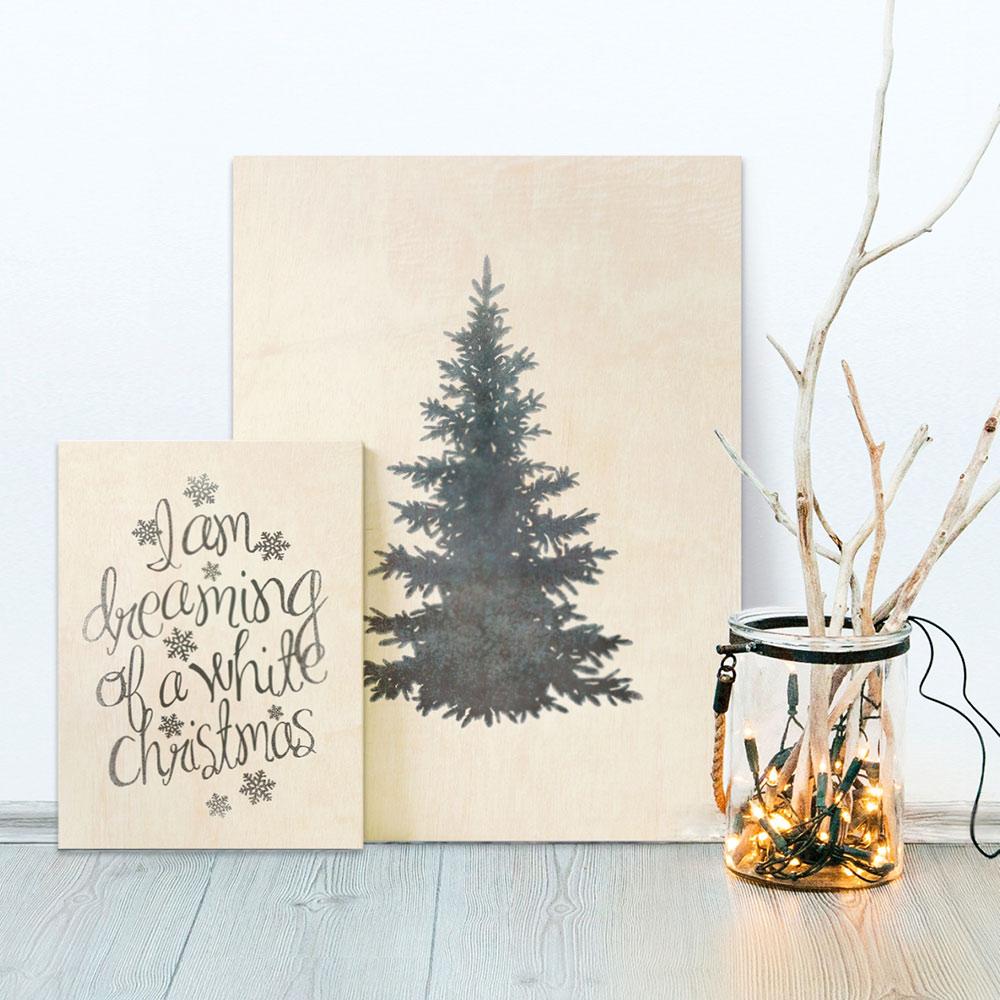 DIY Print op hout - Met printables zelf op hout afdrukken - Tutorial van Printcandy