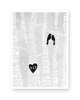 love-birds-gepersonaliseerde-trouw-poster-zelf-online-maken-bij-printcandy