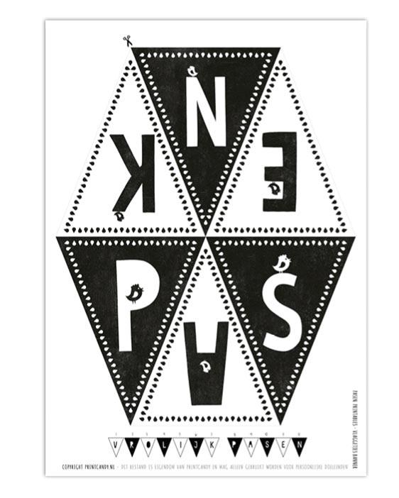 Gratis Pasen printables - Paas Decoratie