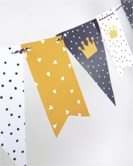 Gratis Printables Koningsdag Vlaggetjes - 27 april - Free Printable Printcandy