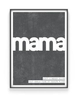 Moederdag Cadeau | Woord Poster met eigen woord en citaat | Printcandy