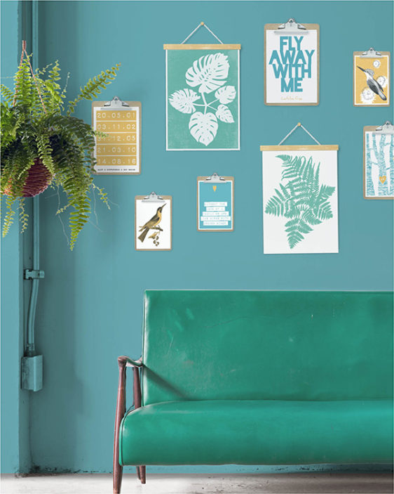 trend-geel-posters-eclectic-boho-interieur