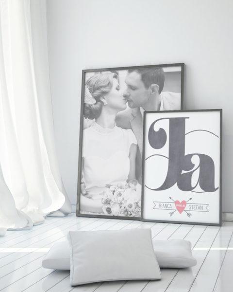Printcandy Love Poster met hart