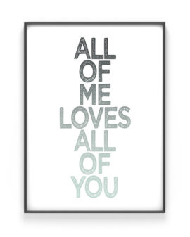 Quote Poster met eigen tekst - Online zelf tekst posters maken in zwart wit of met kleur | Printcandy