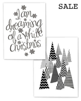 2 Kerst Posters voor € 14,50 - Printcandy Korting - Sale