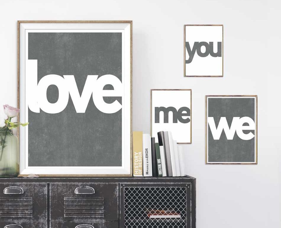 Zelf posters maken voor Valentijn | Printcandy