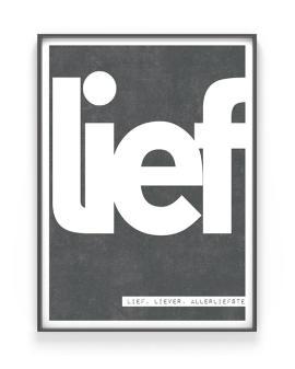 Woord Poster met eigen tekst maken | Printcandy