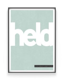 Vaderdag Cadeau - Woord Poster met eigen woord en citaat