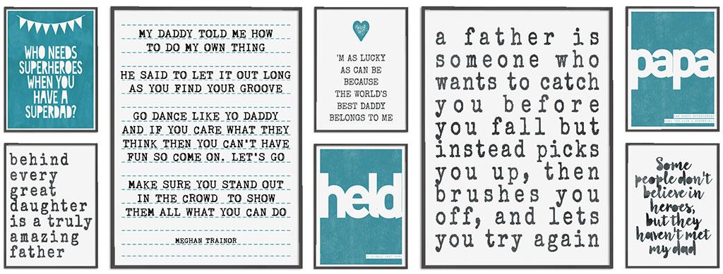 Posters voor Papa - Poster met Teksten voor Papa maken