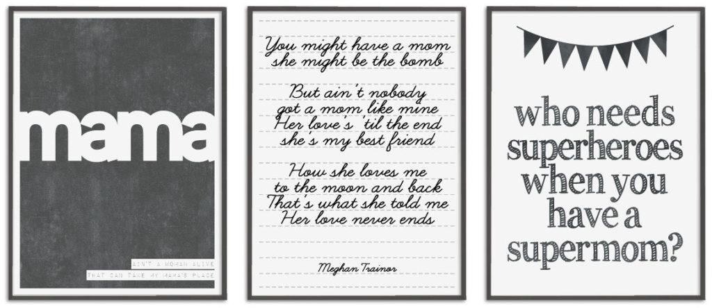 Moederdag Quotes en Citaten op Posters met eigen tekst - Printcandy