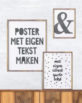 Tekst Posters
