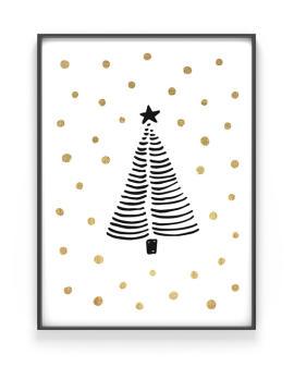 Kerstboom Poster - Zelf Kerst Poster maken bij Printcandy