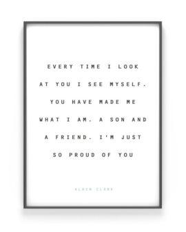 Quote Poster maken met eigen tekst bij Printcandy