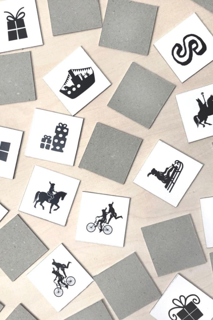 Gratis Sinterklaas Printables   Memory Spel   Printcandy