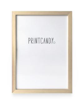 Posterlijst Hout - 21 x 30 cm - Printcandy