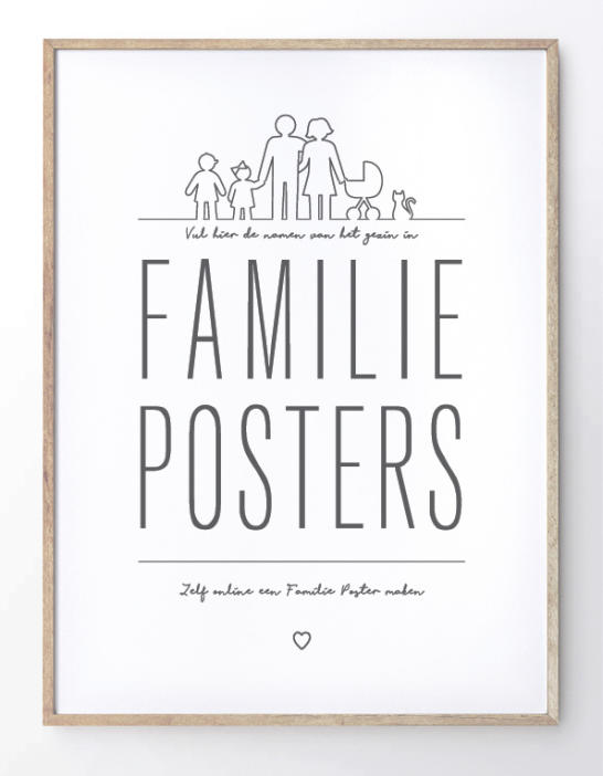 Familie Posters