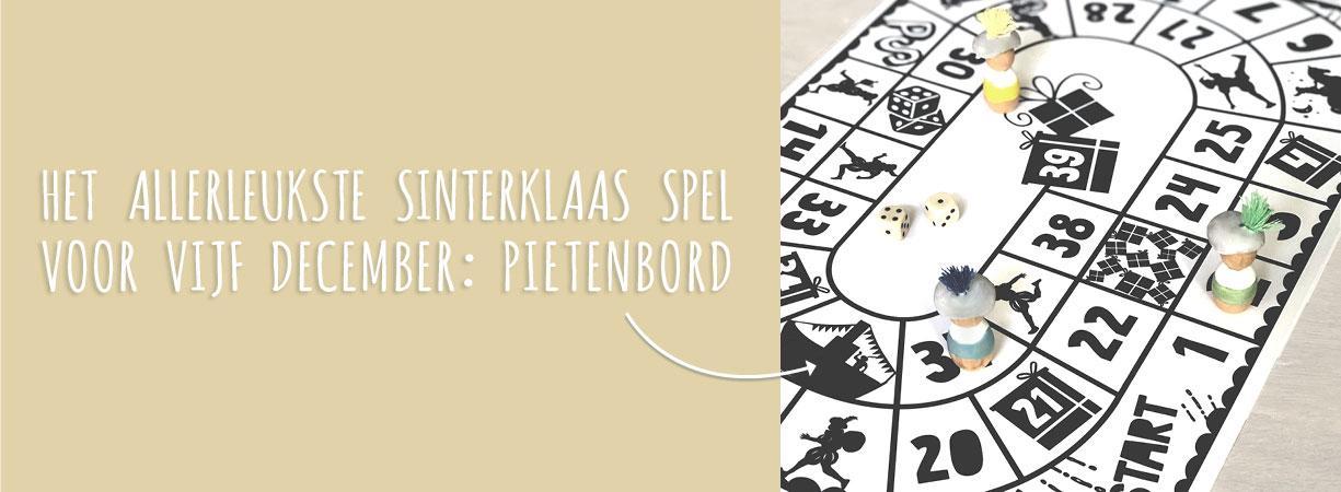 December prints | Sinterklaas-spel Pietenbord | Printcandy