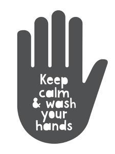 Handen wassen poster | Printcandy