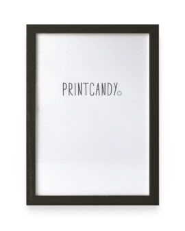 Posterlijst Zwart - 21 x 30 cm - Printcandy