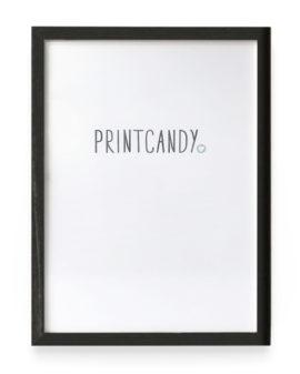 Posterlijst Zwart - 30 x 40 cm - Printcandy
